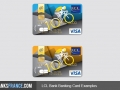 Credit Lyoannais LCL Bank Banking Card Examples