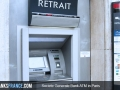 Societe Generale Bank ATM in Paris